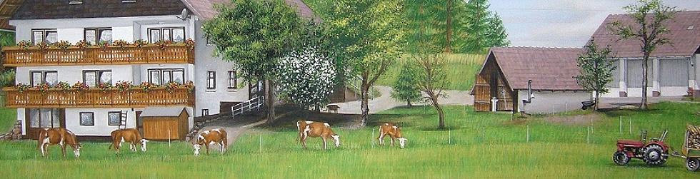 Holzmalerei Bauernhof Evelina Iacubino Kunst In