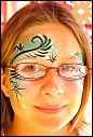 Halloween fasching fasnet karneval kinderschminken evelina